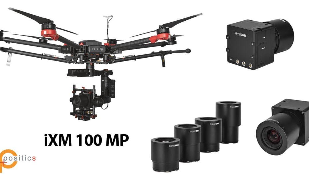 Appareil photo Moyen Format Haute résolution pour drone