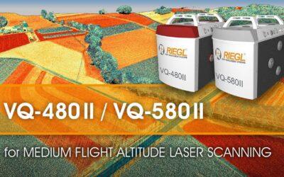 Innovations de la gamme de scanners laser aéroportés RIEGL